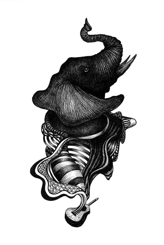 Elephant Guitar