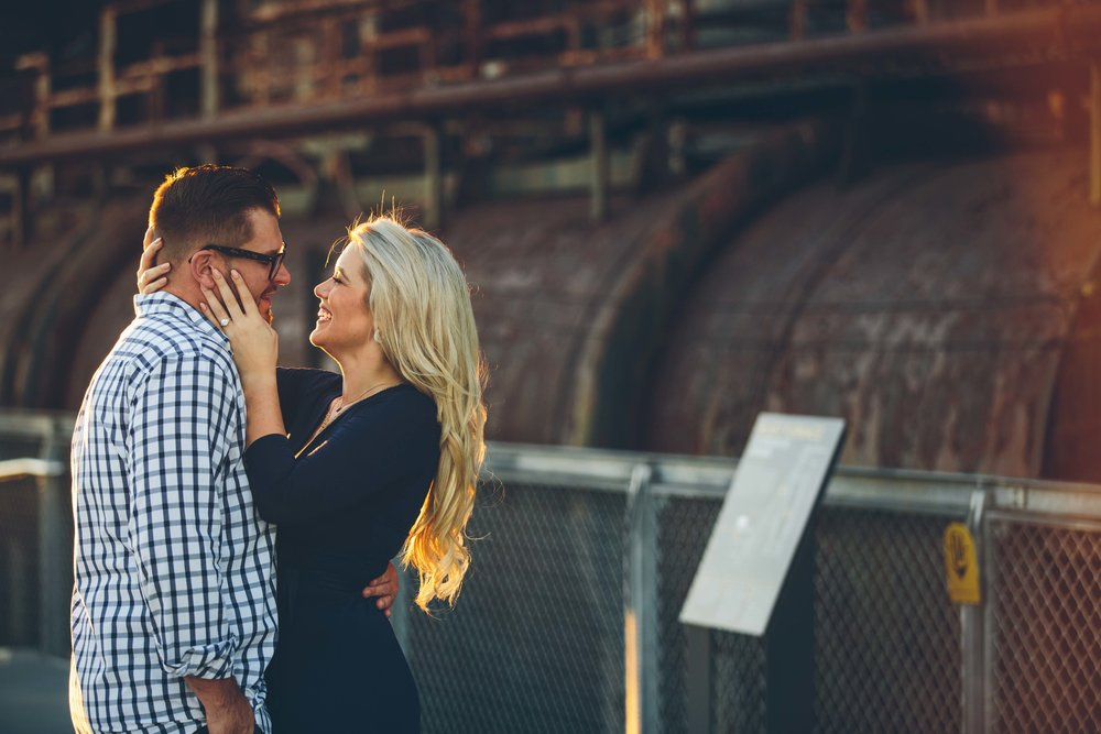 Aaren Lee Photography Steel Stacks Bethlehem Philadelphia Wedding Photographer