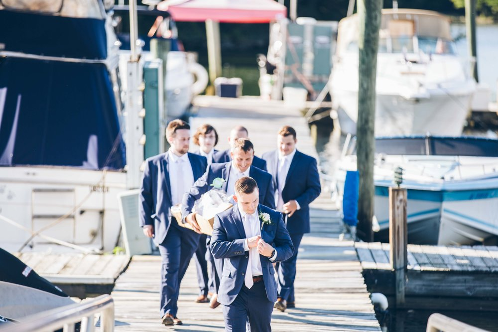 Aaren Lee Photography Clarks Landing Yacht Club Philadelphia Wedding Photographer