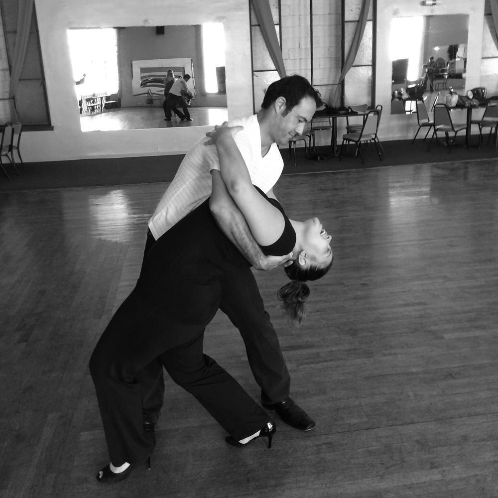 Passionate Tango Dip!