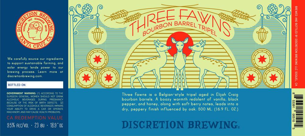 Three Fawns Bourbon Barrel Tripel