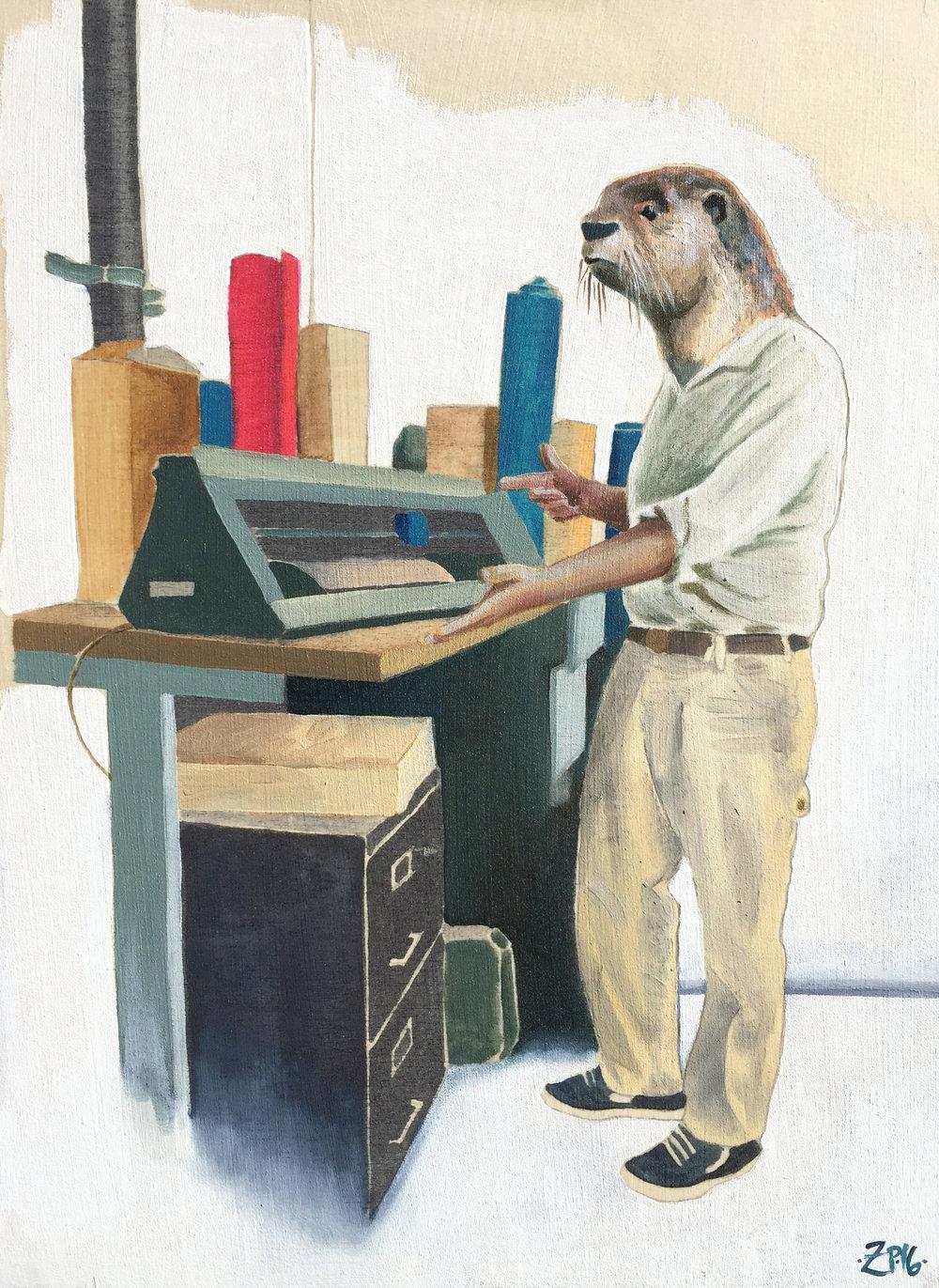 The Industrial Designer (Nak)
