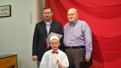 Three generations of David Beatty's (taken May 28,2012)