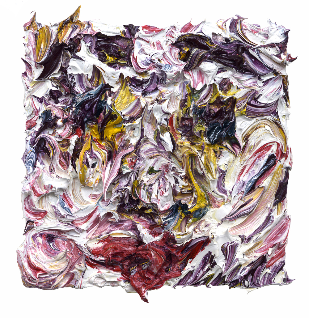 "Faded Glory, 2015  Oil on wood  4x4"""