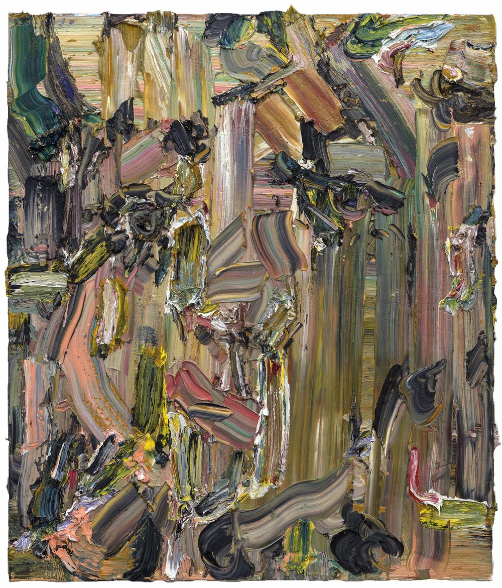 "I Am Waiting, 2015  Oil on linen  24x30"""