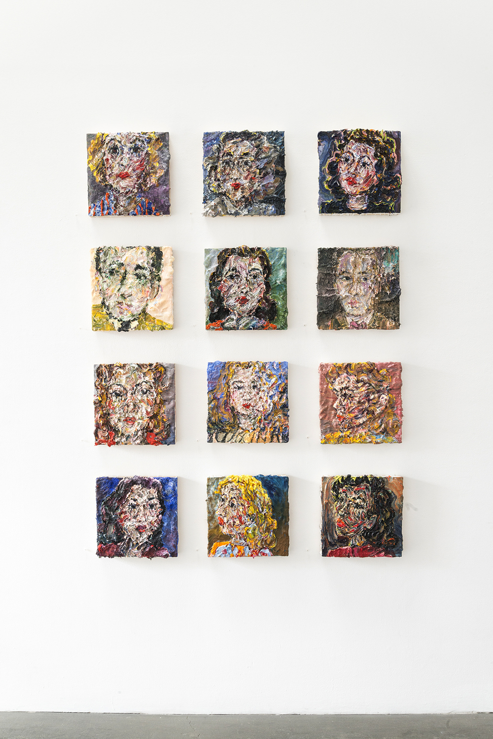 Dreamers installed at Richard Heller Gallery, 2015