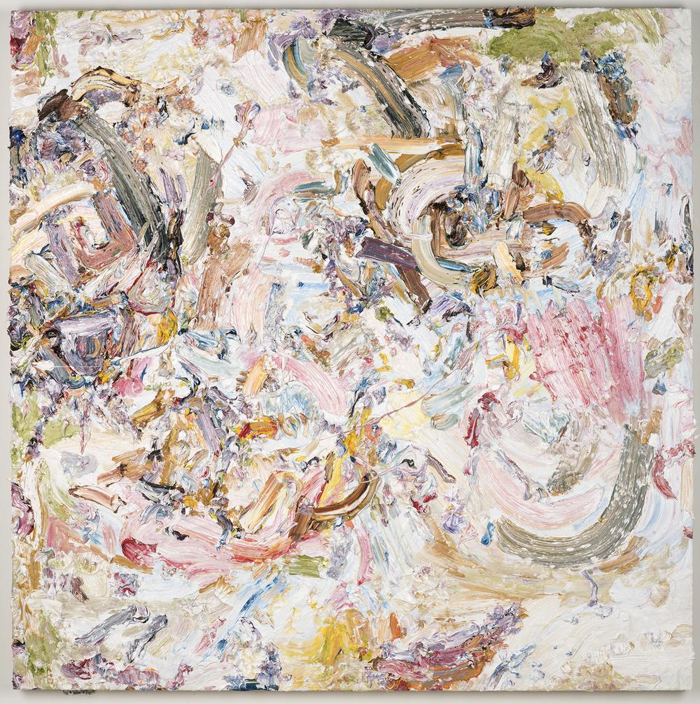 "Lemondrop, 2016  Oil on panel, 48x48"""
