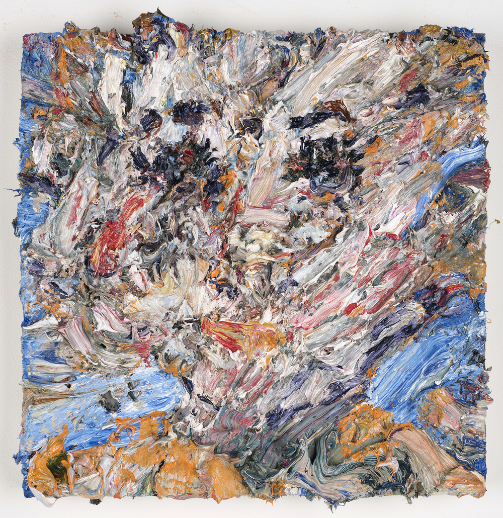 """Maude, 2016  Oil on panel, 12x12"""""""