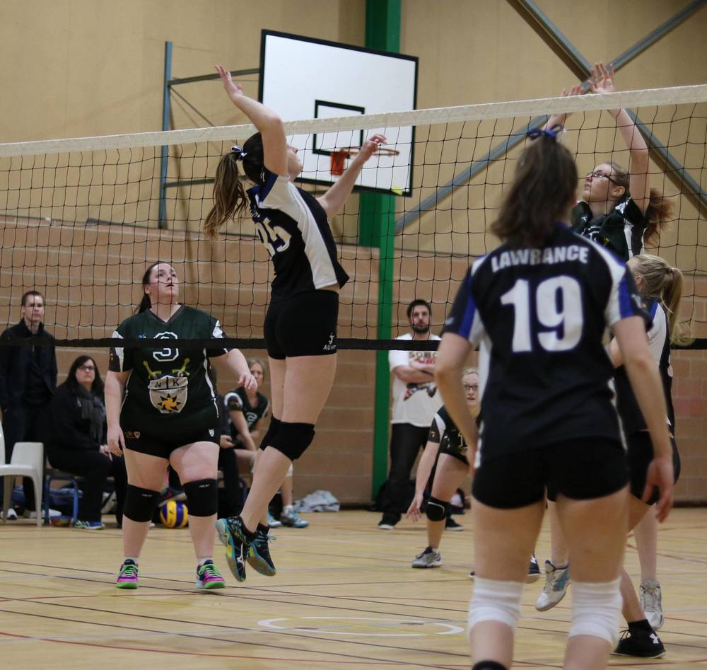 AUVC Division 1 Women vs Northern Knights.   Photo Credit: Shannon Schulz