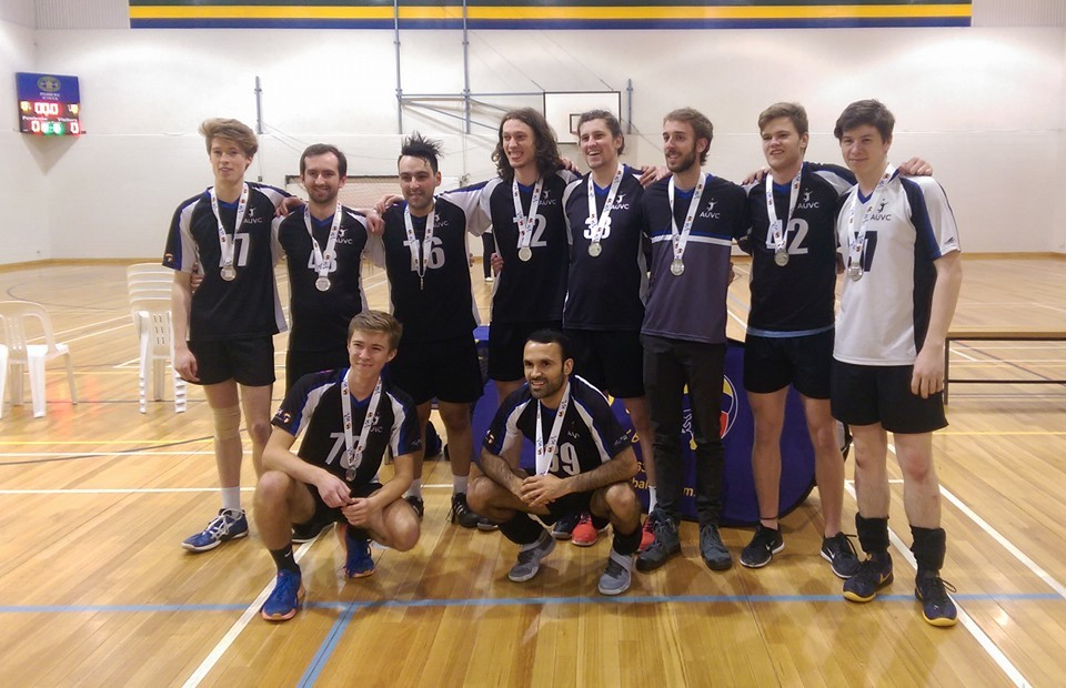 2016 SA State League Division 2 Men Silver Medalists  (Left to Right) Olly Williams, Simon Pratt, Finn Mcintyre, Elvio Sinopoli (Captain), Oscar Harper, Oscar Estrada, Montana Nelligan, Brodie McDougall (Coach), Brodie Jackson, Jon Mabbs.