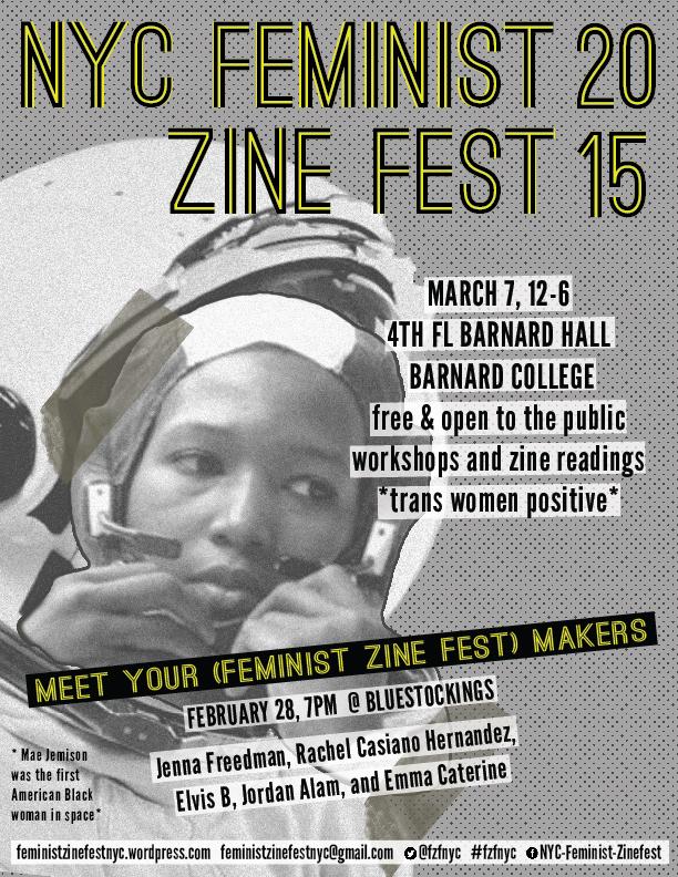 2015Feminist Zine Fest Poster