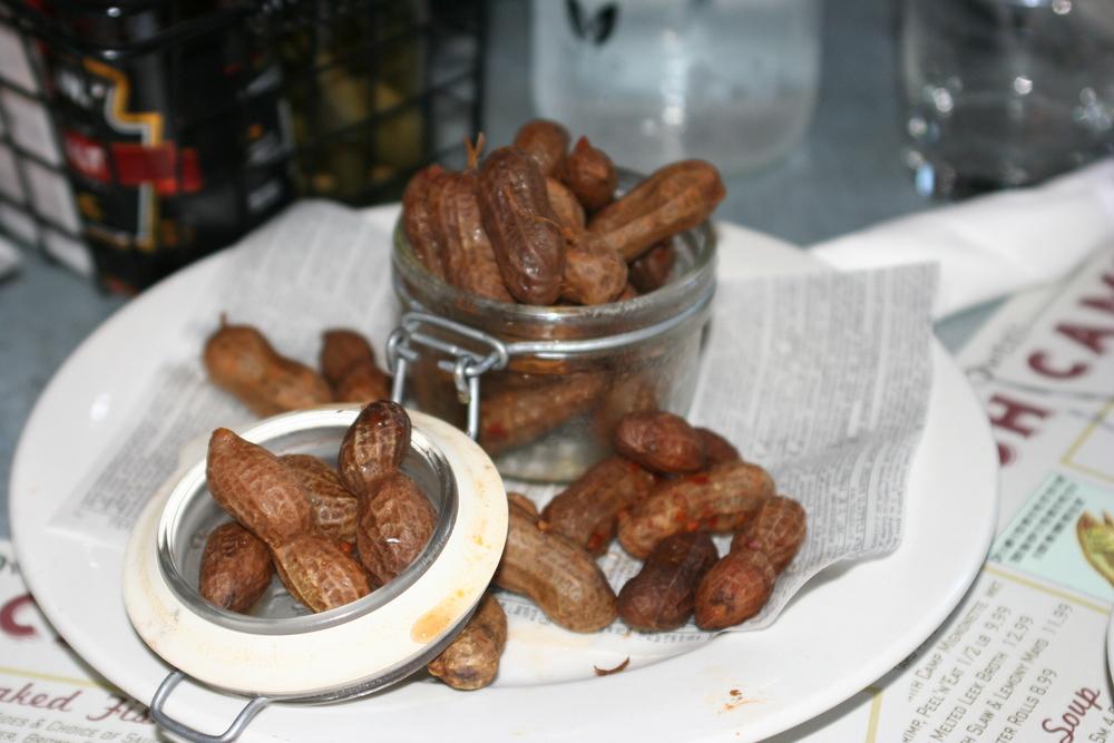 Boiled Hot Roadside Peanuts
