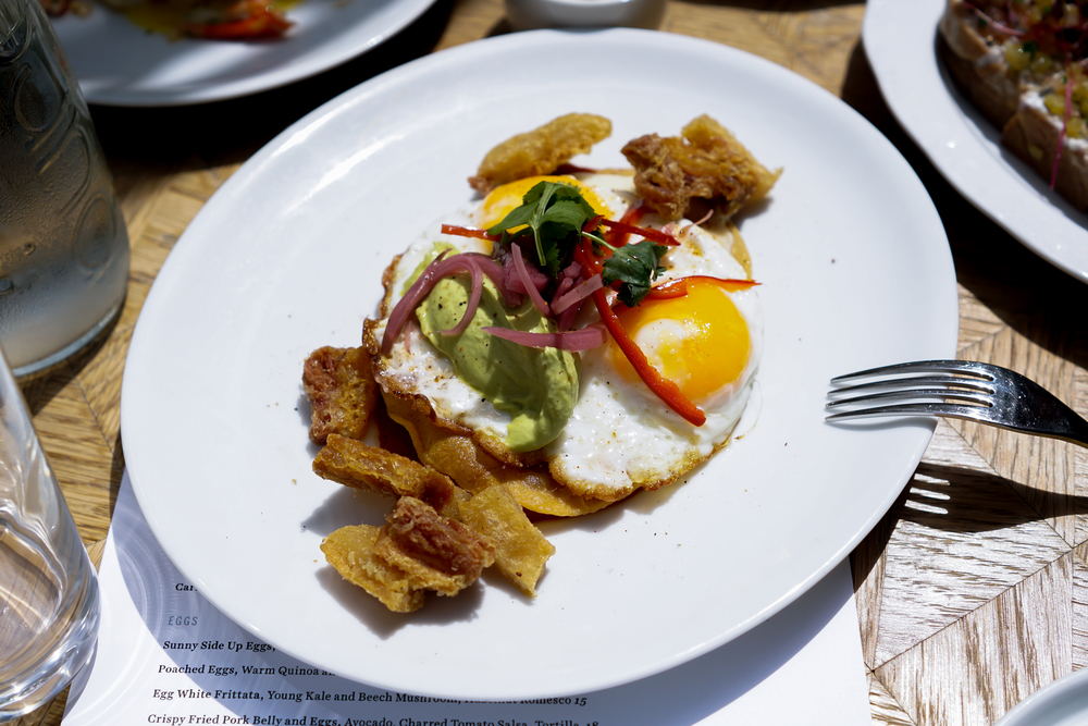 Crispy Fried Pork Belly and Eggs