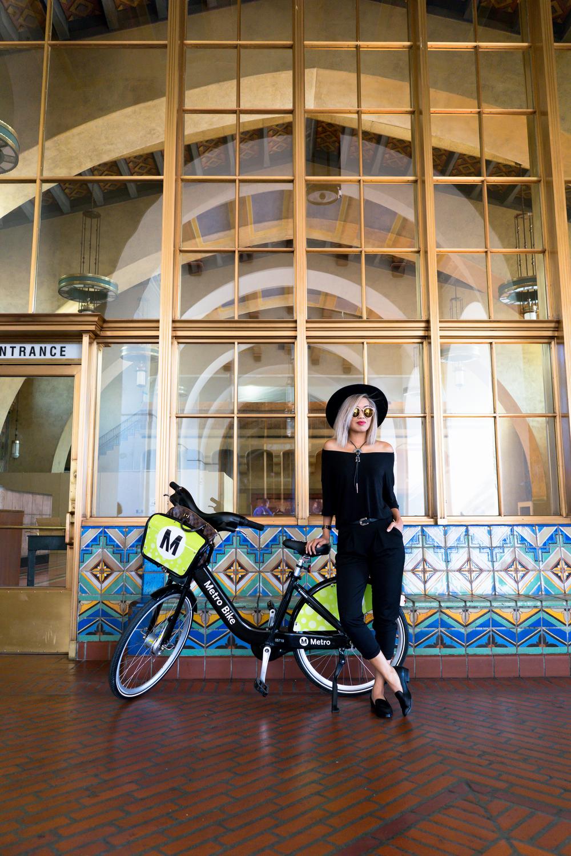 Metro Bike Share Downtown LA By Lisa Linh Lisa Linh