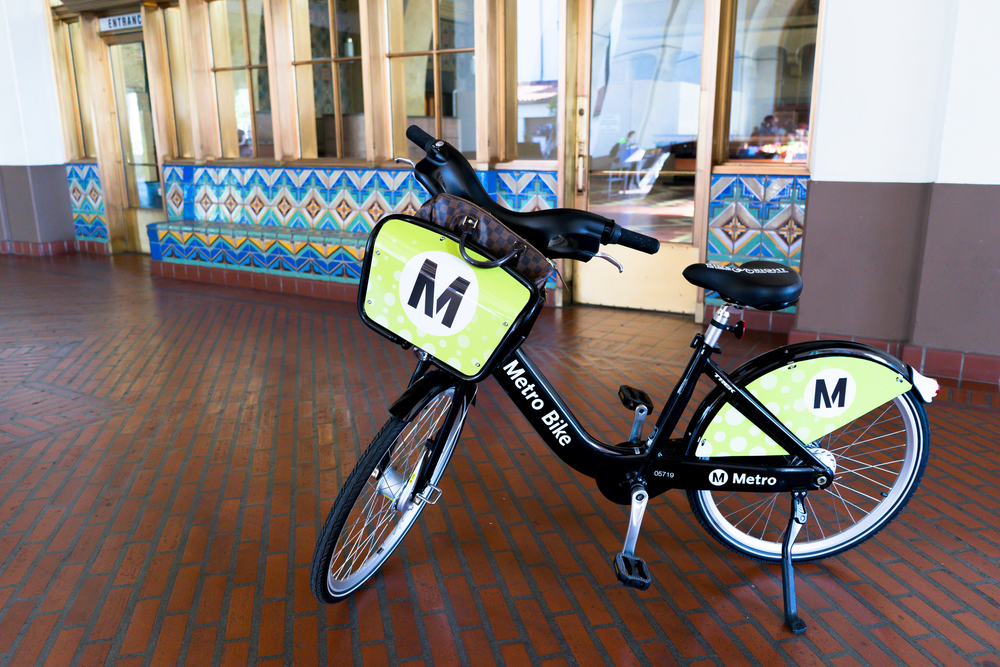 Metro Bike Share Downtown Los Angeles By Lisa Linh Lisa Linh