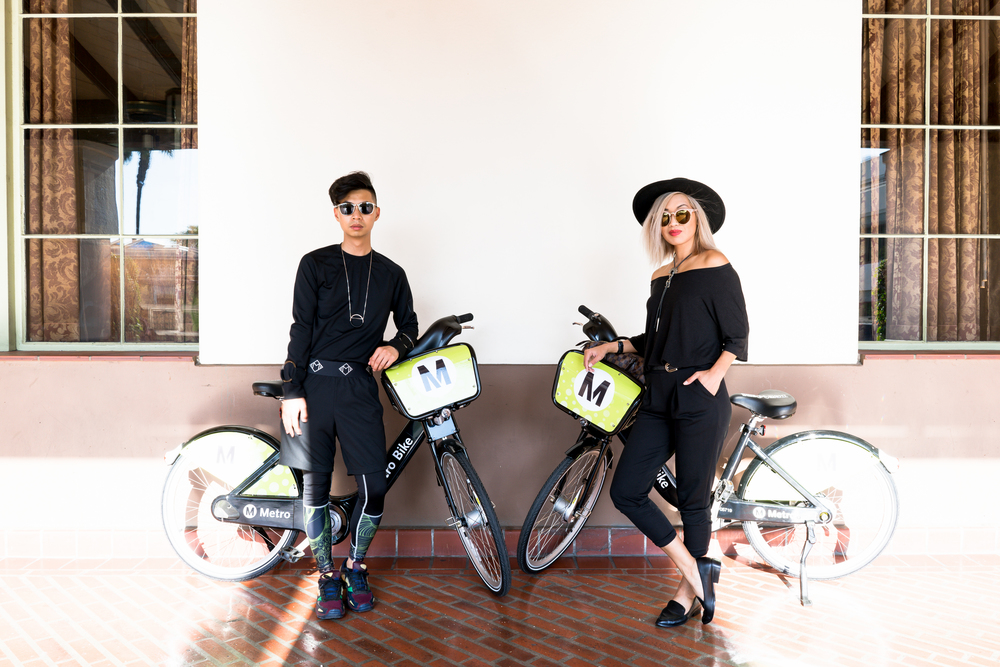 Metro Bike Share DTLA MyBelonging By Lisa Linh Lisa Linh