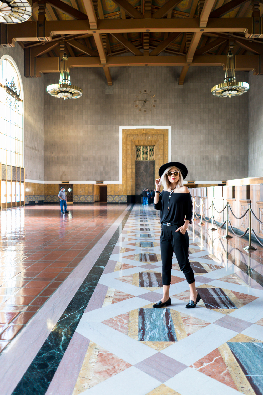Union Station DTLA Kit and Ace Top The 2 Bandits Necklace By Lisa Linh Lisa Linh