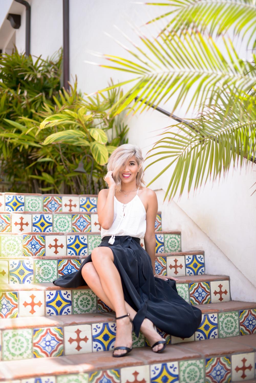 L'Agence Maxi Skirt By Lisa Linh Lisa Linh