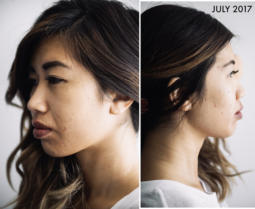 No make-up; just brows | Photos by  KSOLE
