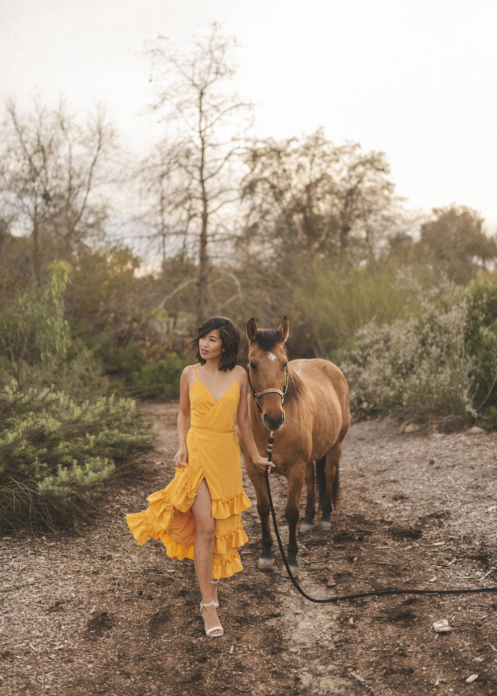 Dress:  Lovers + Friends Lucie Midi (XS) ; Shoes:  Raye Lash Heel