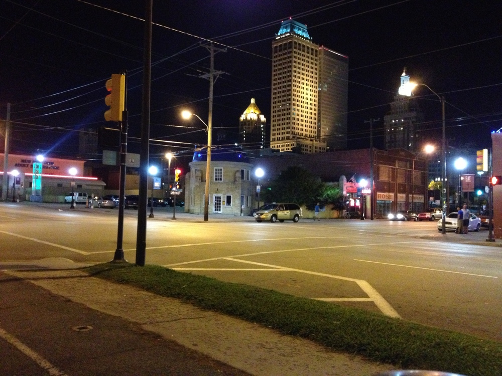 another Tulsa Street at nightt