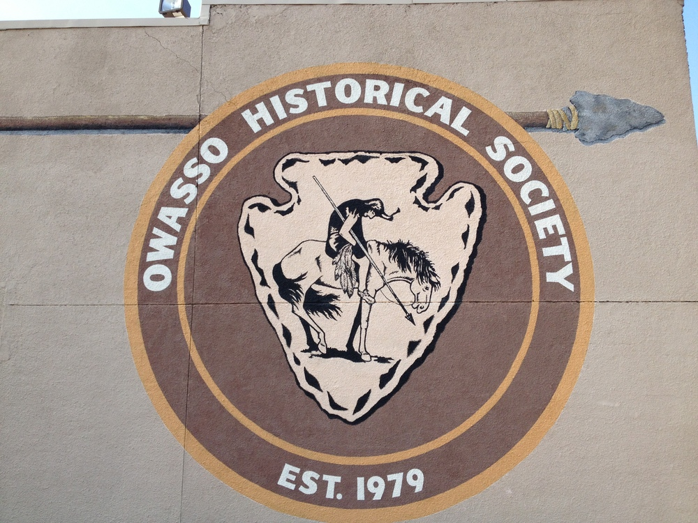 Owasso seal on wall