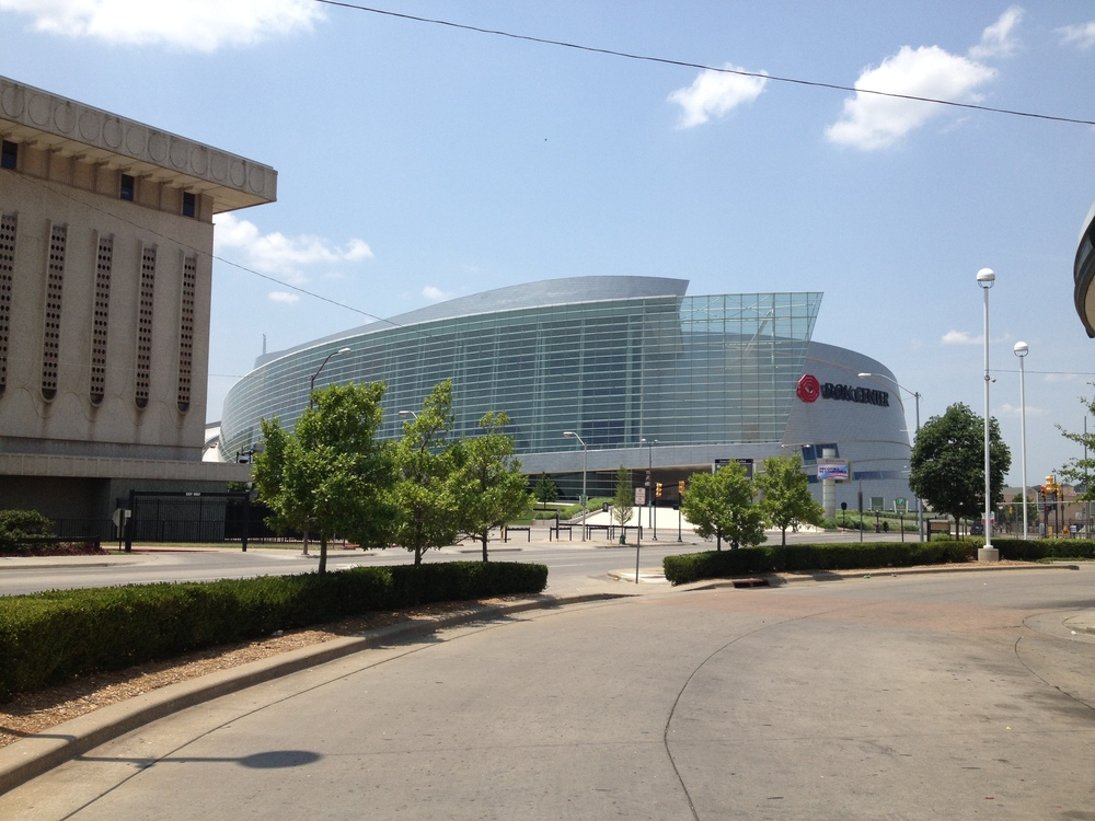 The BOK Center in Tulsa