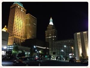 Downtown Tulsa Blue Dome District.