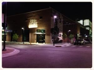 Woody Guthrie Center on Bragedy Street.