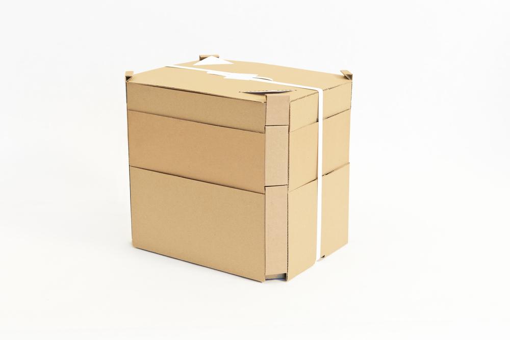 Menübox – Kompakt gestapelt, fertig zur Lieferung!