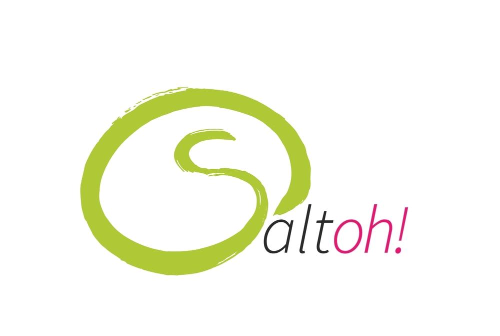 Saltoh! steht für spielen, ausprobieren, lernen und trainieren, das oh! für den Ausdruck der Begeisterung und des Lernfortschritts.