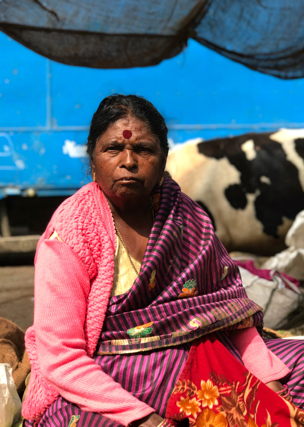 Market woman, Bangalore