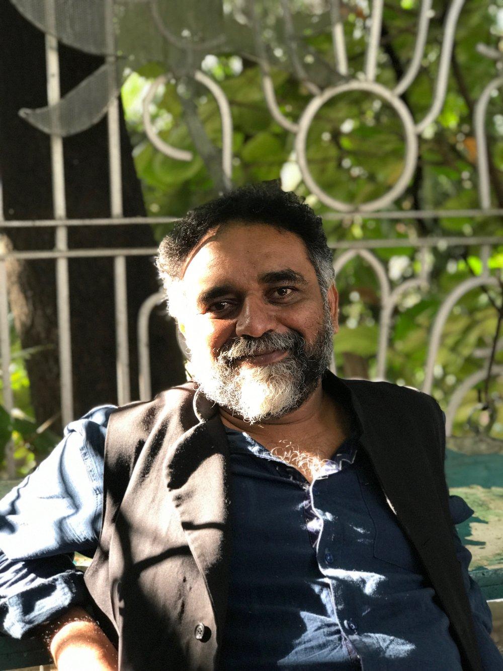 Suresh Jayaram, founder of 1Shanthiroad Studio/ Gallery, Bangalore