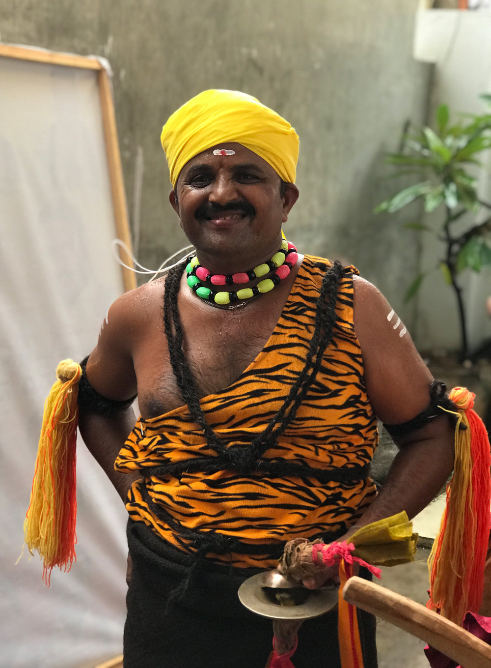Traditional dancer/ musician, Bangalore