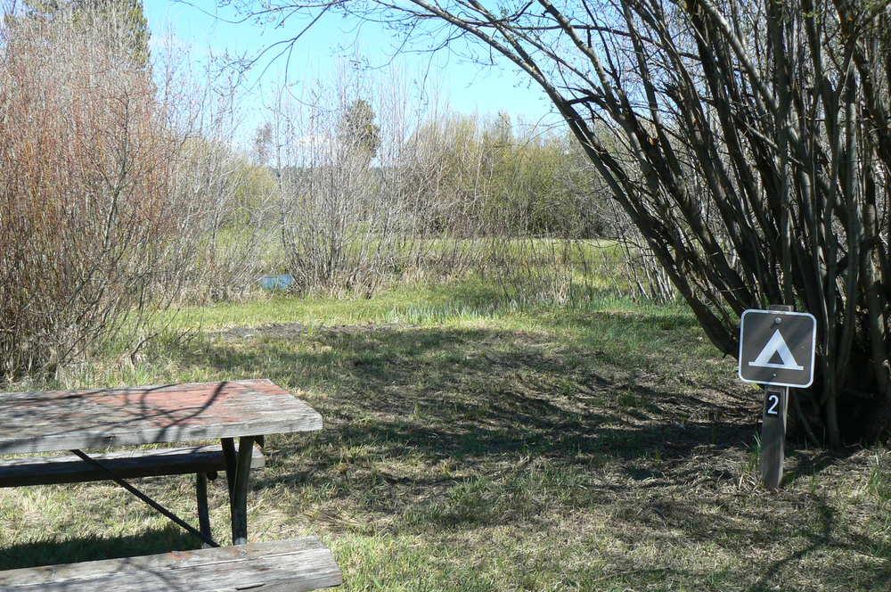 River Tent Site 2
