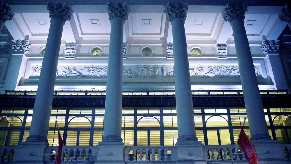皇家歌剧院的局部