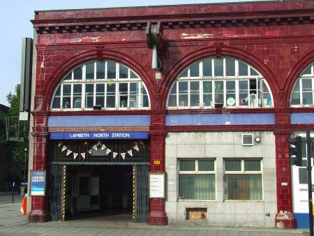 Lambeth North 地铁站(网络图片)