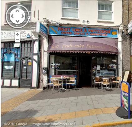 Google 街景上的 Fruitcake