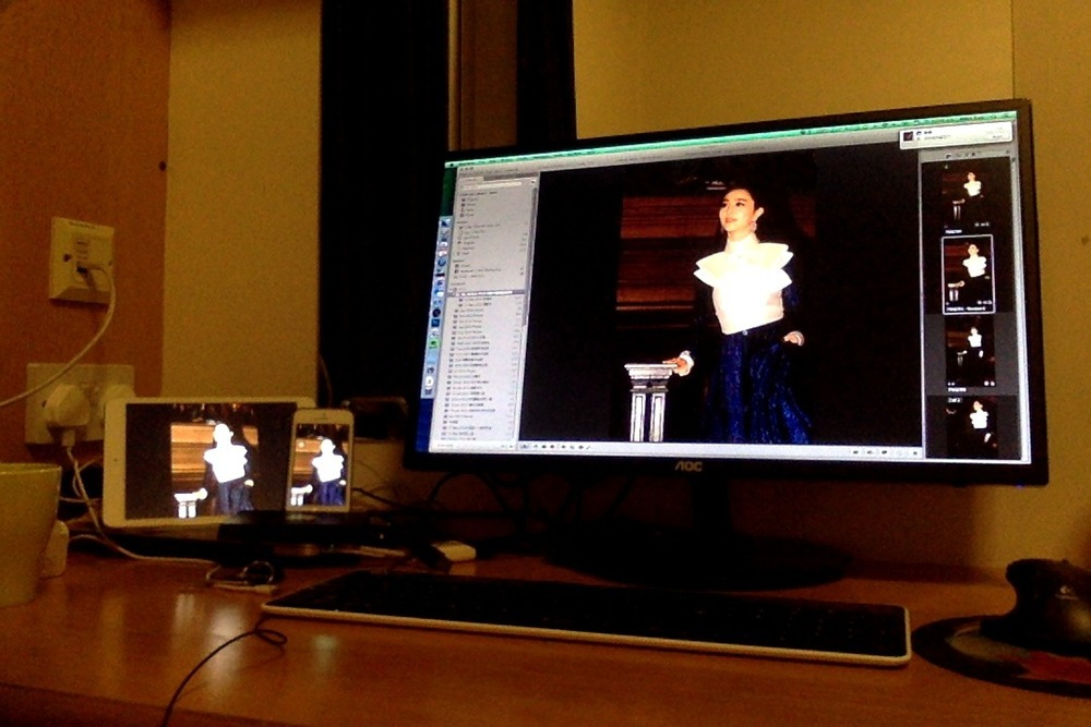 在 Mac ,iPhone 和 iPad 上显示同一张照片