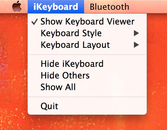 小键盘设置