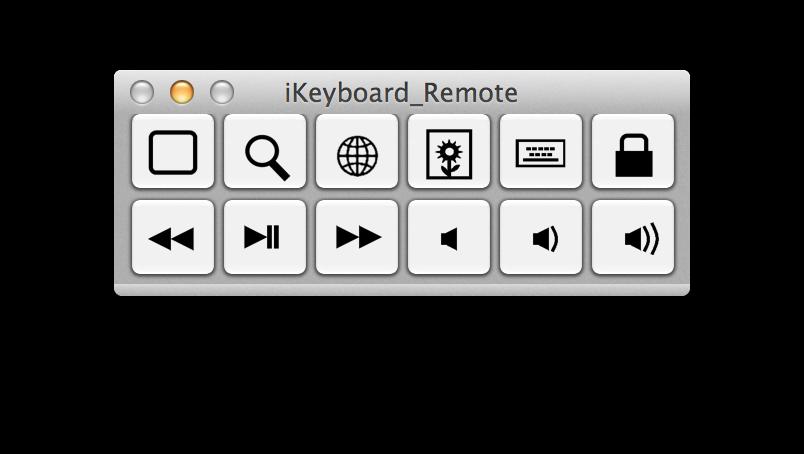 小键盘外观