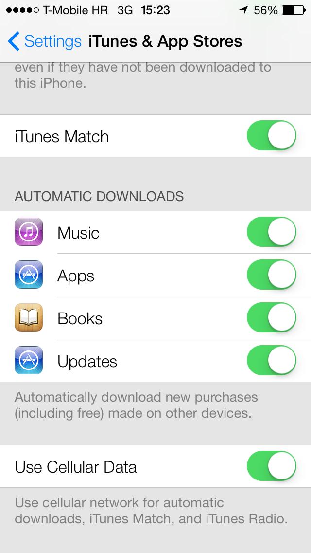 自动下载 App Store 的已购买项目( 来源 )