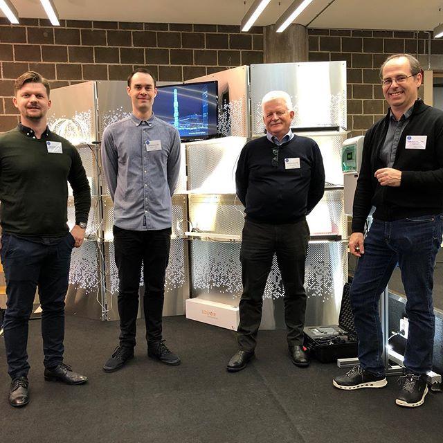 Idag och på fredag besöker vi Light Symposium vid KTH i Stockholm. #luxlight #led #lightsymposium #2018 #ledlinear #ledlights #ledlinearlight