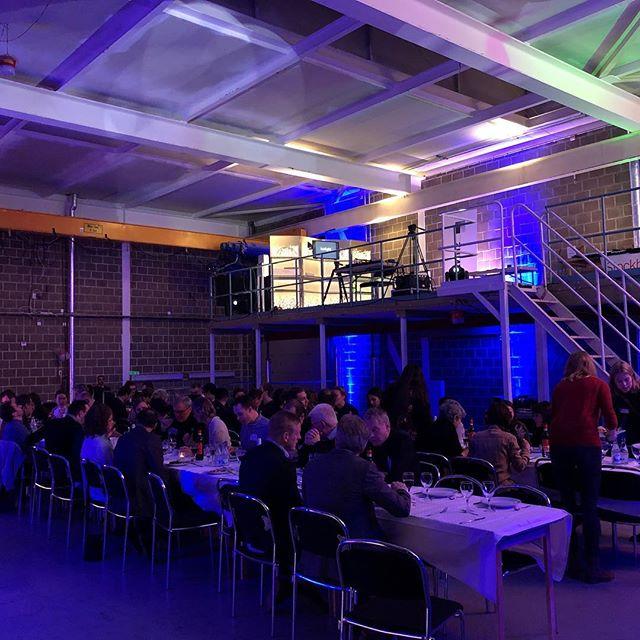 Vi tackar för en härlig dag med bra mat och möten. Vi kanske ses i morgon. #lightsymposium  #kth #arkitekthögskolan #2018 #luxlight #engineers #architects #lightdesigners