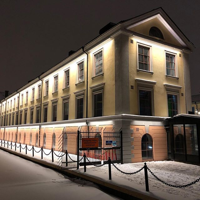 Last night we programmed our latest project with facade lighting for Eskilstuna stadsmuseum together with Tengbom and Eskilstuna commune.  Light design: Chiara Carucci  #tengbom #light #lightdesign #ljusdesign #led #eskilstuna #eskilstunakommun #warmlight #luxlight #luxlightab