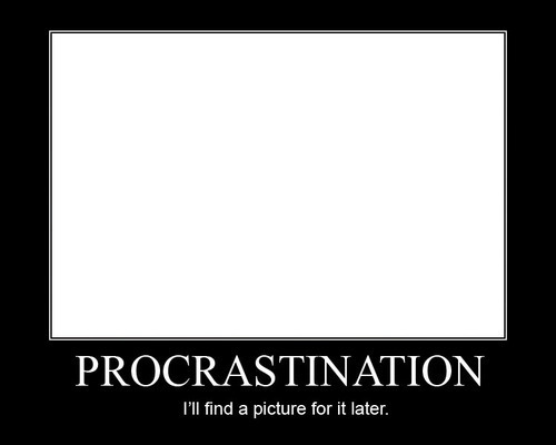 essay on procrastination for college