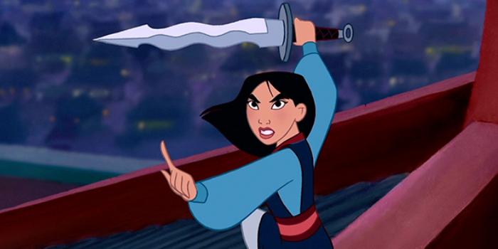 Yeah, that Mulan.
