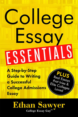 Order the New Book: College Essay Essentials