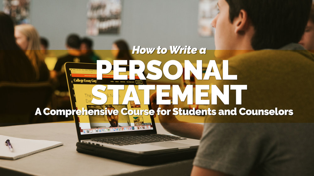 personal statement examples
