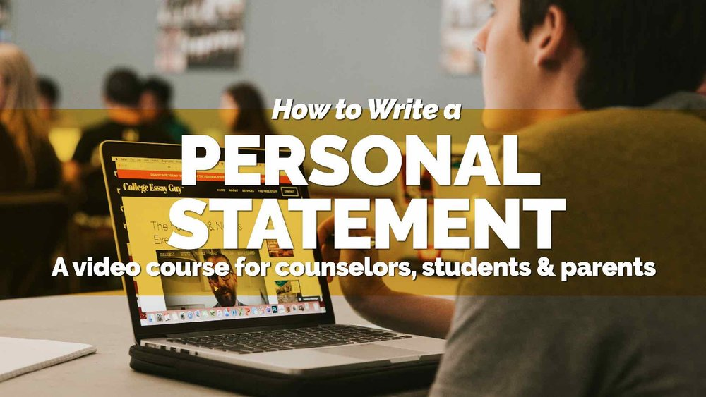 How to Write a Personal Statement 2018 Video Course (Smal).jpg